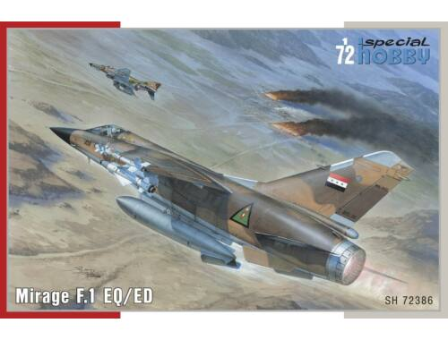 Special Hobby Mirage F.1 EQ/ED 1:72 (72386)