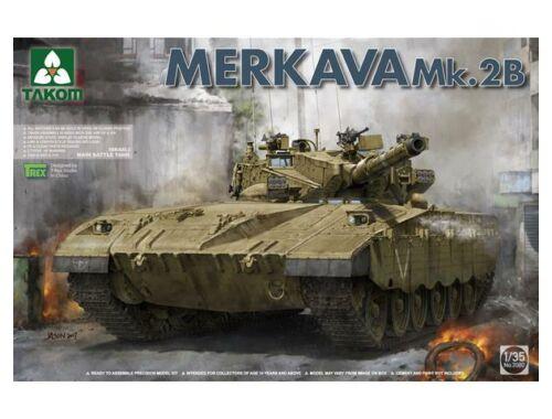 Takom Israeli Main Battle Tank Merkava Mk.2b 1:35 (2080)