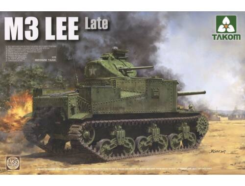 Takom US Medium Tank M3 Lee Late 1:35 (2087)