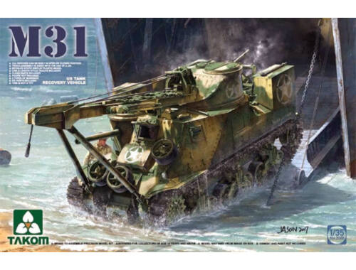 Takom M31 US Tank Recovery Vehicle 1:35 (2088)