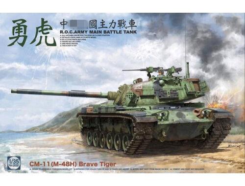Takom R.O.C.ARMY CM-11(M-48H) Brave Tiger MBT 1:35 (2090)