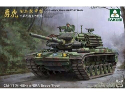 Takom R.O.C.Army CM-11(M-48H)w/ERA Brave Tiger MBT 1:35 (2091)