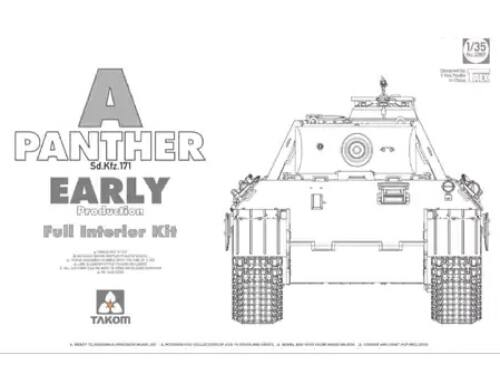 Takom German Heavy Tank Panther A early 1:35 (2097)