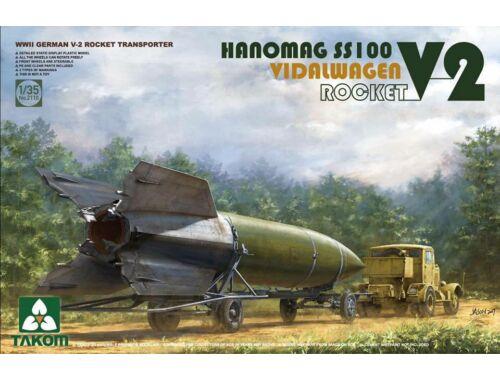 Takom V-2 ROCKET VIDALWAGEN HANOMAG SS100 1:35 (2110)
