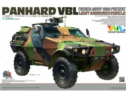 Tiger Model French PANHARD VBL Light Armoured Vehicl 1:35 (4603)