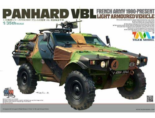 Tiger Model French PANHARD VBL Light Armoured Vehicl 1:35 (4603)