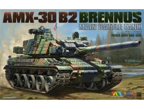 Tiger Model AMX-30 B2 BRENNUS MAIN BATTLE TANK 1:35 (4604)