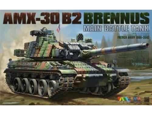 Tiger Model AMX-30 B2 BRENNUS MAIN BATTLE TANK 1:35 (4604)