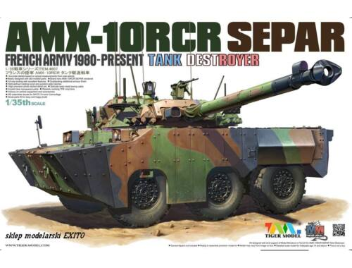 Tiger Model AMX-1ORCR SEPAR HEAVY TANK DESTROYER 1:35 (4607)