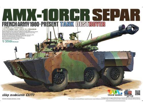 Tiger Model AMX-1ORCR SEPAR HEAVY TANK DESTROYER 1:35 (4607)