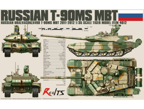 Tiger Model Russian T-90MS MBT 1:35 (4612)