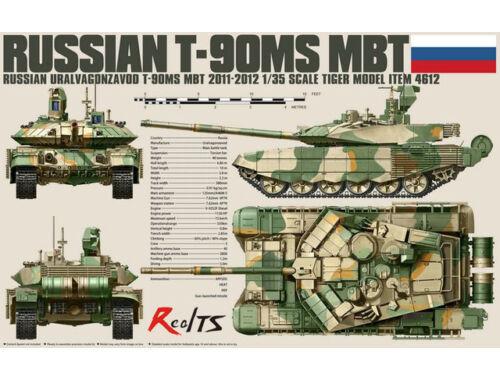 Tiger Model Russian T-90MS MBT 1:35 (4612)