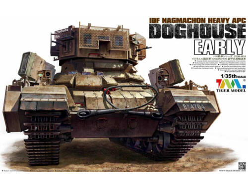 Tiger Model IDF NAGMACHON DOGHOUSE EARLY HEAVY 1:35 (4624)