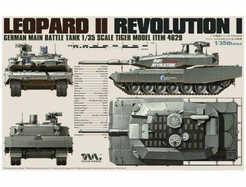 Tiger Model German Main Battle Tank Revolution I Leopard II 1:35 (4629)