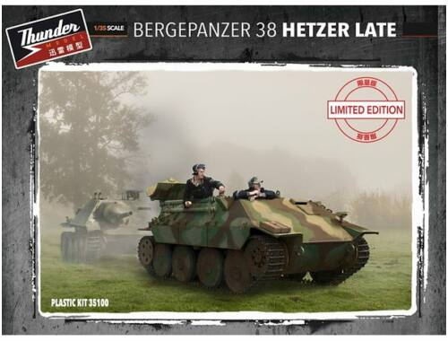 Thunder Model Bergepanzer 38 Hetzer Late(Limited Edition) 1:35 (35100)