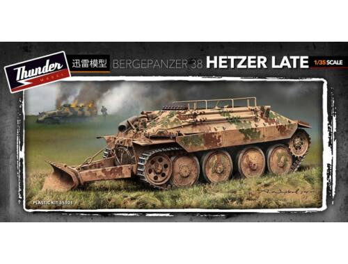 Thunder Model Bergepanzer 38 Hetzer Late 1:35 (35101)