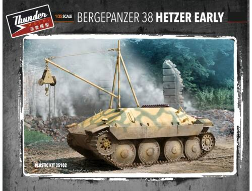 Thunder Model Bergepanzer 38 Hetzer Early 1:35 (35102)