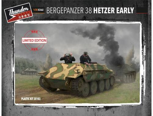 Thunder Model Bergepanzer Hetzer Early (Limited Editio 1:35 (35103)