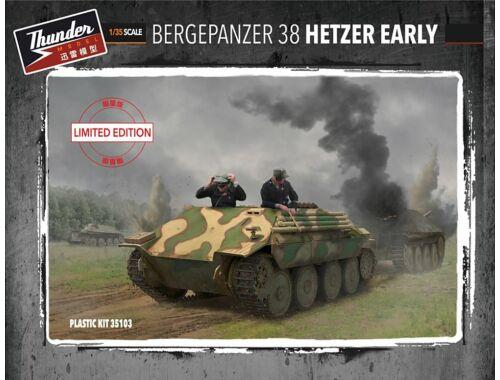 Thunder Model Bergepanzer Hetzer Early (Limited Editio 1:35 (35103)
