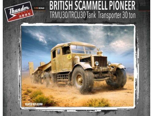 Thunder Model British Scammell Pioneer TRMU/TRCU30 Tank Transporter 1:35 (35200)