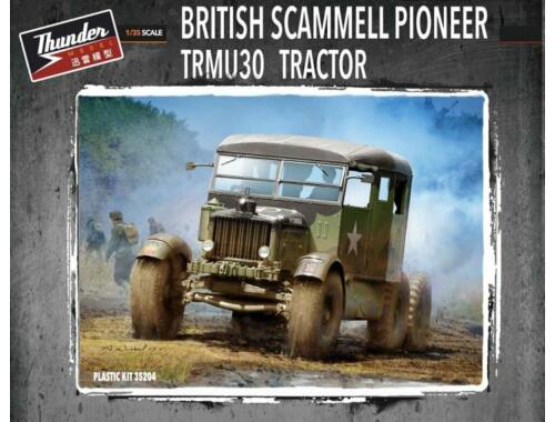 Thunder Model British Scammell Pioneer TRMU30 Tractor 1:35 (35204)