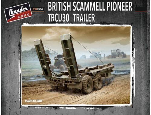 Thunder Model British Scammell Pioneer TRCU30 Trailer 1:35 (35205)