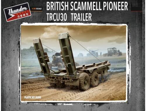 Thunder Model British Scammell Pioneer TRCU30 Trailer 1:35 (35205)