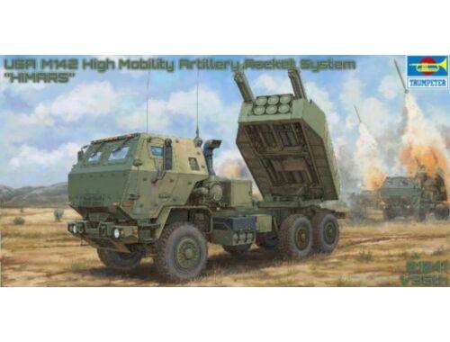 Trumpeter M142 Mobility Artillery Rocket System (HIMARS) 1:35 (01041)