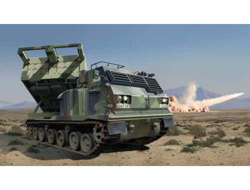 Trumpeter M270/A1 Multiple Launch Rocket System-US 1:35 (01049)