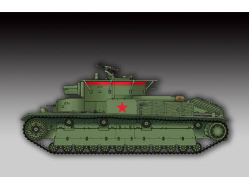 Trumpeter Soviet T-28 Medium Tank (Welded) 1:72 (07150)