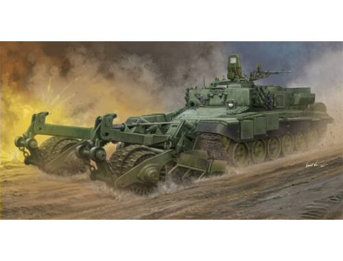 Trumpeter Russian Armored Mine-Clearing Vehicle BMR-3 1:35 (09552)