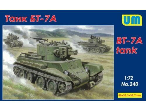Unimodel BT-7 Tank 1:72 (240)