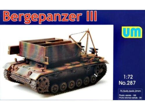 Unimodel Bergepanzer III 1:72 (287)