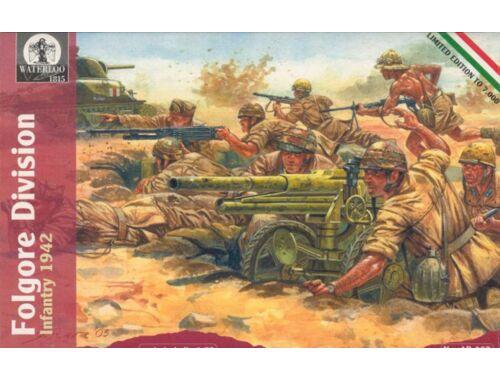 Waterloo Folgore Division Infantry, 1942 1:72 (AP002)