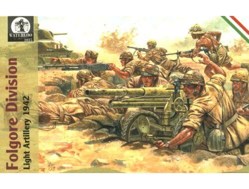 Waterloo Folgore Division Light Artillery, 1942 1:72 (AP004)