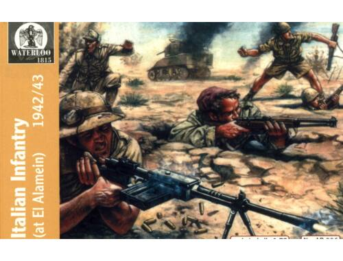 Waterloo Italian Infantry Afrika, 1940-43 1:72 (AP006)