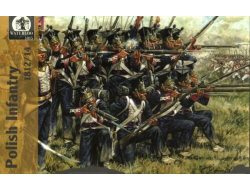 Waterloo Polish Infantry, 1808-14 1:72 (AP008)