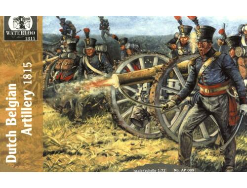 Waterloo Dutch Belgian Artillery, 1815 1:72 (AP009)
