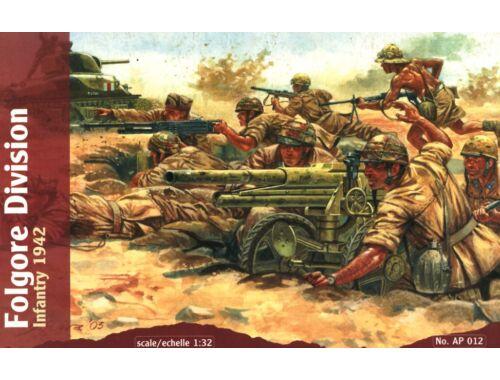 Waterloo Folgore Division Infantry, 1942 1:32 (AP012)