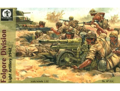 Waterloo Folgore Division Light Artillery, 1942 1:32 (AP014)