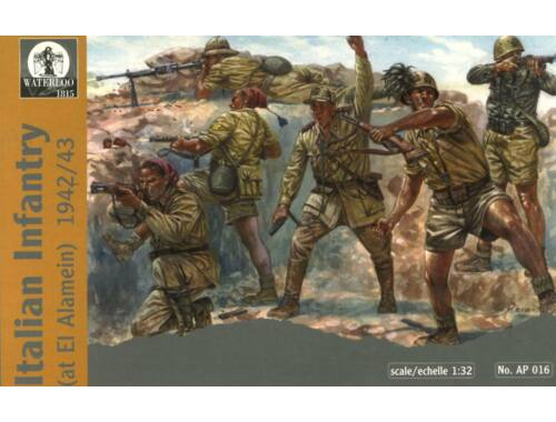 Waterloo Italian Infantry at El-Alamein, 1942-43 1:32 (AP016)