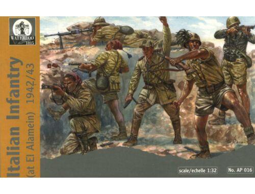 Waterloo Italian Infantry at El-Alamein, 1942-43 1:32 (AP016)