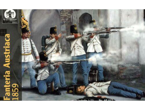 Waterloo Austrian Infantry, 1859 1:72 (AP017)