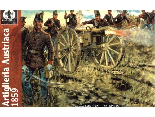 Waterloo Austrian Artillery, 1859 1:72 (AP018)