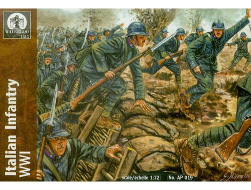 Waterloo Italian Infantry, WWI 1:72 (AP019)