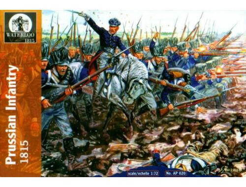 Waterloo Preussische Infantry, 1812-15 1:72 (AP020)