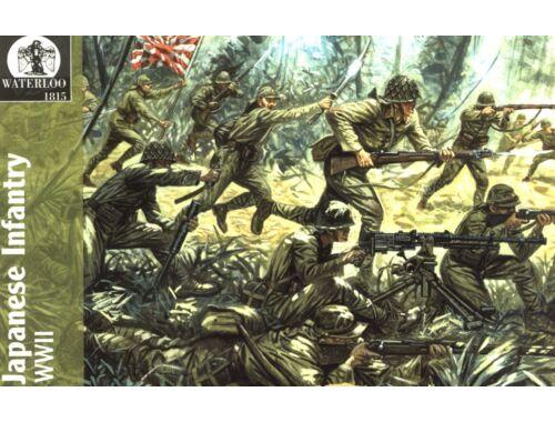 Waterloo Japanische Infantry WWII 1:72 (AP022)