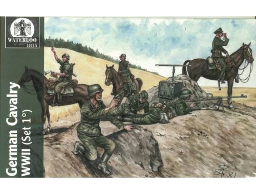 Waterloo Wehrmacht   Waffen Cavalary WWII, 1st v. 1:72 (AP025)