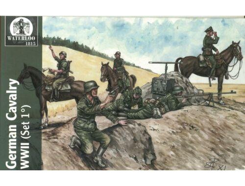 Waterloo Wehrmacht   Waffen Cavalary WWII, 1st v. 1:72 (AP025)