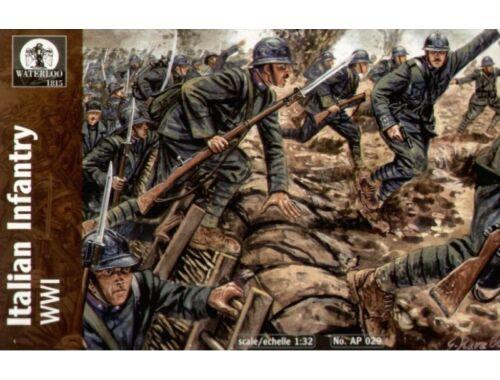 Waterloo Italian Infantry, WWI 1:32 (AP029)